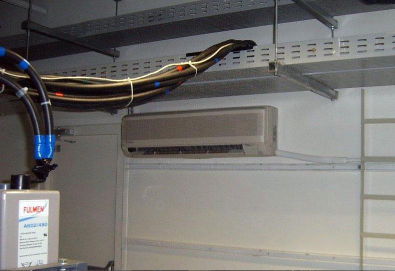 Montajes de sistemas de aire acondicionado.